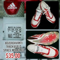 pair of white-and-red Nike sneakers Lizton, 46149