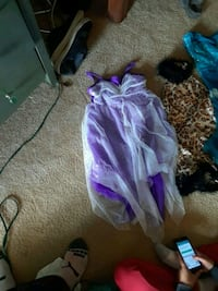 toddler's purple and white dress El Paso, 79935