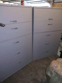 Two NEW Steelcase 5drawer filing cabinets