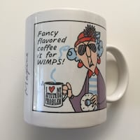 """NEW HALLMARK CLASSIC MAXINE """"Fancy flavored coffee is for wimps!"""" Coffee Mug Palmdale, 93550"""