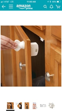 Safety 1st Magnetic Locking System for Cabinet Doors Rancho Cucamonga, 91701