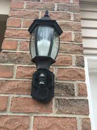 Out side light with sensors