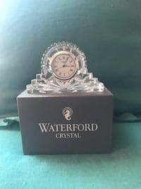 REDUCED...Waterford Crystal Clock Mamaroneck, 10543