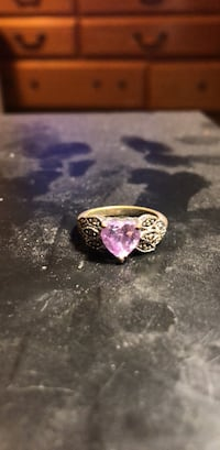 silver-colored ring with purple gemstone Santa Fe, 87507
