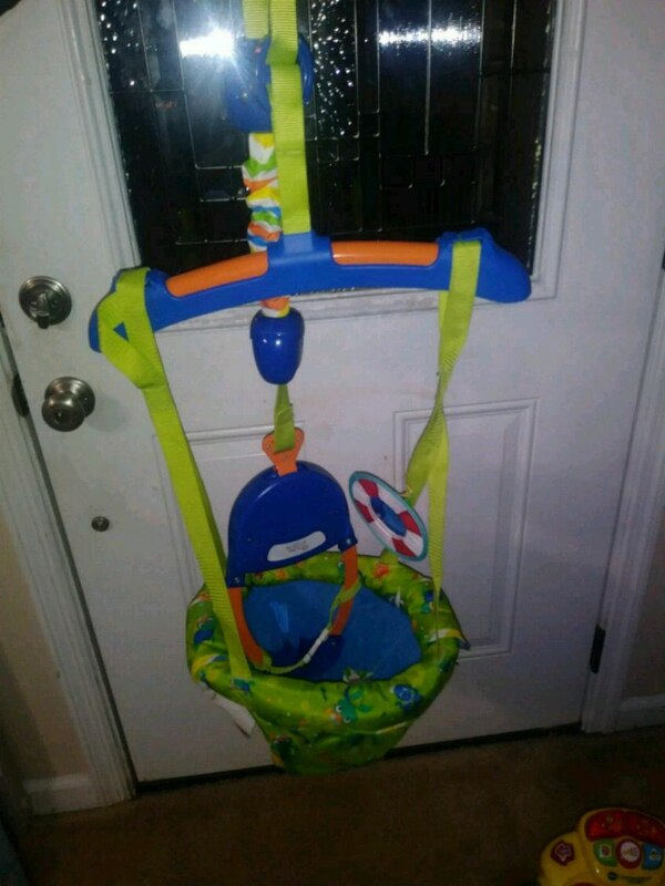 d7e4e4d8f Used Baby Einstein Door Swing Bouncer for sale in Conyers - letgo