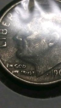 Rare 1966 dime with floating 5 on cheek Omaha, 68108