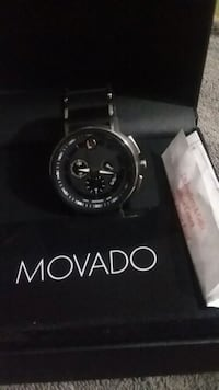 Movado  chronograph  time piece new in box