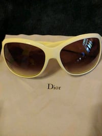 autgentic womens white Christian  Dior's glasses