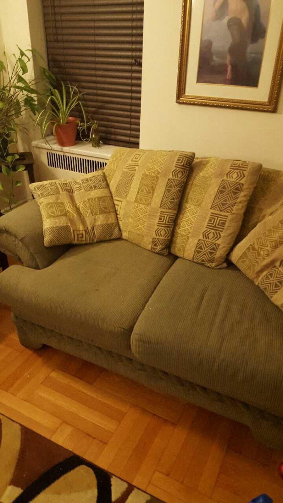 Used living room furniture sofa and love seat in new york - Refurbished living room furniture ...