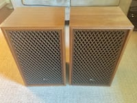 Vintage speakers Sansui SP-150 Silver Spring