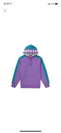 Supreme Paneled Hoodie Size L Original I have the online receipt of asked for firm price  Salinas, 93905