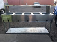 Hot Food Table Gas Natural or Butáne stainless steel Tucson, 85712