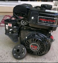 6.5HP GO KART ENGINE WITH CLUTCH$90