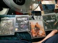 4 Call of Duty games for ps3 Brampton, L6T 2G5