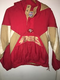 red and brown San Francisco 49ers hoodie Mobile, 36618