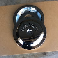 Chrome Chevrolet Air Cleaner cover