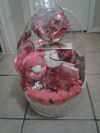 pink and red valentines gift set