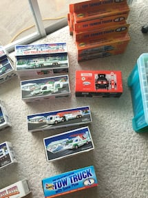 Toy car box lot