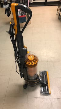 black and yellow upright vacuum cleaner Montréal, H2S 2L9