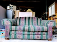 Lovely overstuffed, Southwest/Aztec Couch/Sofabed  Ferndale, 48220