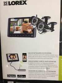 Wireless security cameras it has a 9 inch screen Markham, L6B 1A1