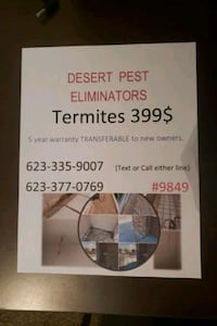Termite Treatment  Goodyear