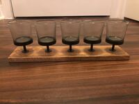 5-Candle Wooden Holder Mc Lean, 22102
