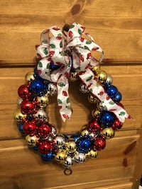 Hand made Christmas wreaths Lubbock, 79424