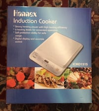 induction cooker in box..