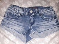 women's blue denim short shorts Jonesboro, 72401