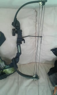 black and gray compound bow Kelowna