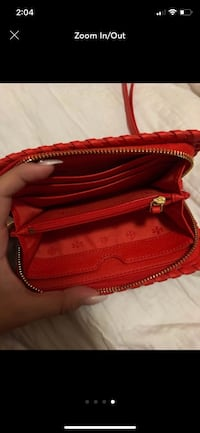 red leather 2-way bag McAllen, 78501