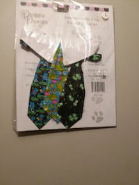 Dog tie interchangeable 3 different ties size larg Myrtle Beach, 29577