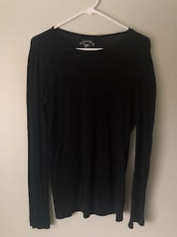 black scoop neck long sleeve shirt San Jose, 95148