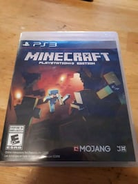 Minecraft Sony PS4 game case