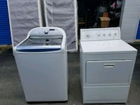 white washer and dryer set Columbus, 31906