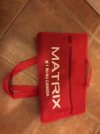 Matrix Foldable Shopping Bag on Wheels, red - $10 Mississauga