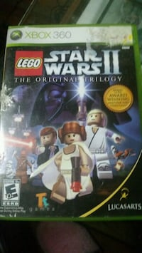 Lego Star wars 2 and 3 for xbox360