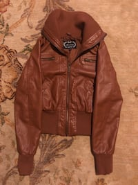 Faux Leather Jacket Wantagh, 11793