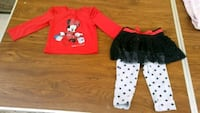 Disney Minnie Mouse outfit - 24 mos. Jacksonville, 32244