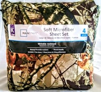 MAINSTAYS SOFT MICROFIBER SHEET SET  Hesperia, 92345
