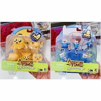 PRICE IS FIRM, PICKUP ONLY - Adventure Time - Jake and Finn Figurines - BNIB- Toronto, M4B 2T2