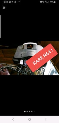 WORKS GREAT ● Nintendo 64  with 4 controllers ps4 xbox .