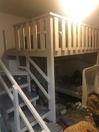 Queen size Loft bed with landing and slide. Must sell this weekend!!! North Las Vegas, 89032
