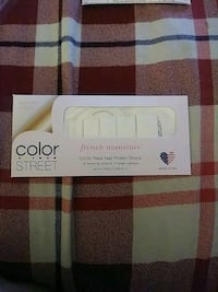 Color Street French Manicure nail strips Las Vegas, 89108