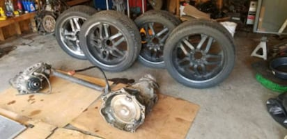 Chevy transmission and tires