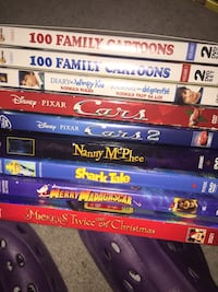 Kid's DVDs 2 for $5