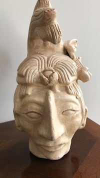 Aztec decorative bust from Mexico. Gettysburg