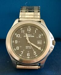 round silver-colored analog watch with link bracelet Fort Myers, 33919
