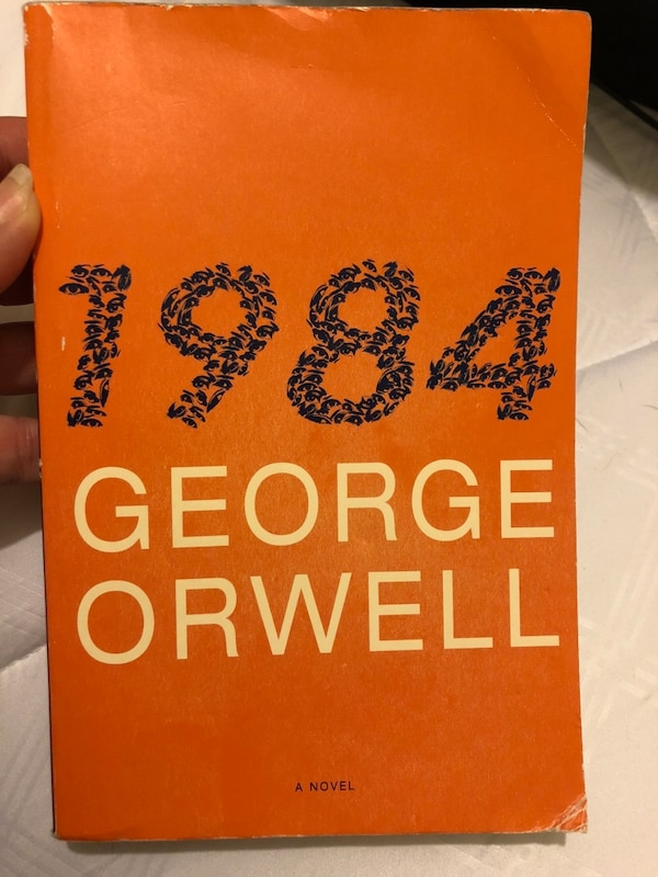 Used 1984 By George Orwell Book For Sale Letgo